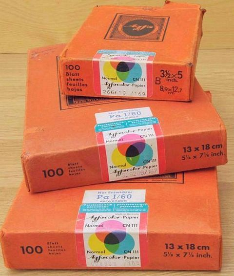Dating agfa photo paper