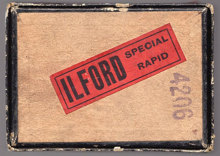 Ilford Special Lantern Plates Sealed Pack